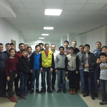 Подготовка сборной Казахстана к WRO-2016